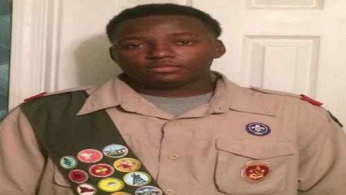 Dalvin Jordan has achieved the rank of Eagle Scout.