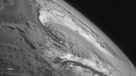 Tropical Storm Arthur on July 2, 2014