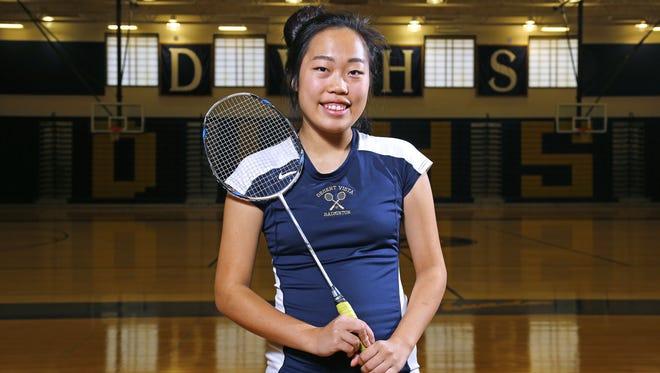 Phoenix Desert Vista's Karen Guo is the Badminton Player of the Year.