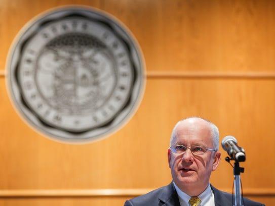 Missouri State University President Clif Smart talks