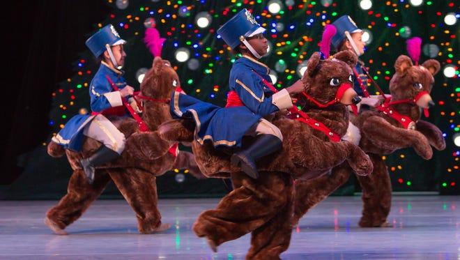 "The new Dancing Bear Cavalry in Nashville Ballet's 10th anniversary production of ""Nashville's Nutcracker."""