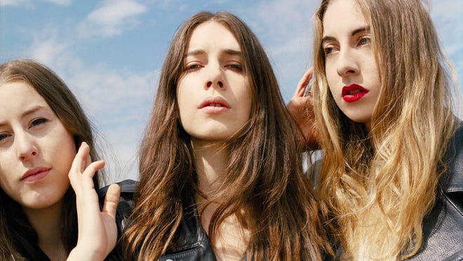 Haim is among the bands booked to play the 2016 Mo Pop Festival in Detroit.