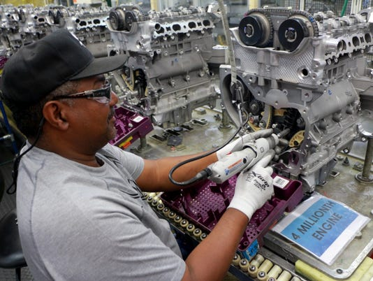 GM Spring Hill Assembly V8 engine investment