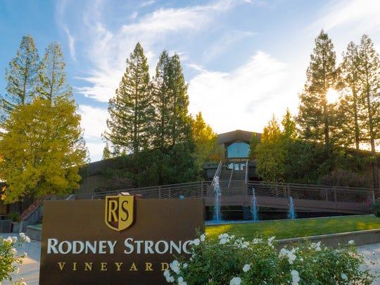 Rodney Strong Vineyards in Healdsburg, California.