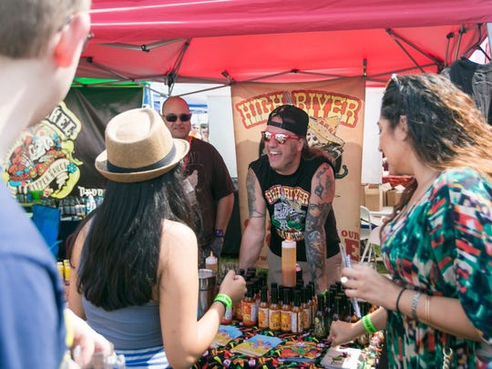 Countless hot sauces will be available for sampling on Saturday at the Hop Sauce Festival.