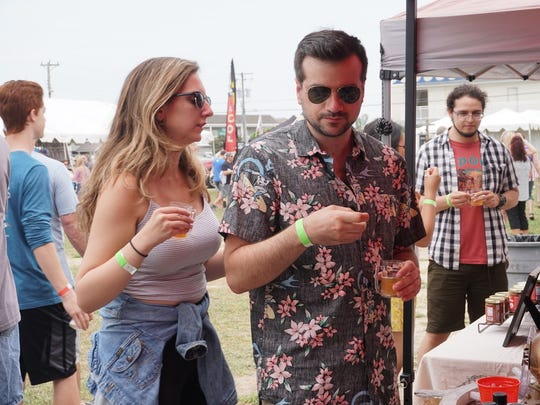 More than 50 beers were available for sampling at Hop Sauce Festival in Beach Haven on June 2.