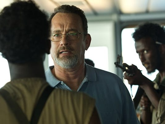 Associated Press; Tom Hank, center, shown here in a still from his latest movie 'Captain Phillips.' This week, Hanks said he has Type 2 diabetes.
