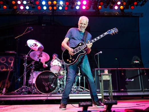 Peter Frampton performed at Horseshoe Casino on June 22nd, 2014.