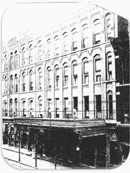 The 1877 Hotel Bennett, on Washington Street in Binghamton,