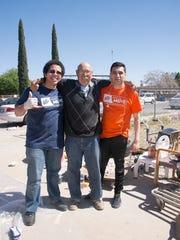 Donato Kava, left to right, Raul Eric De Haro and Jose Galindo