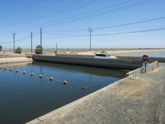 California Drought Sinking Land
