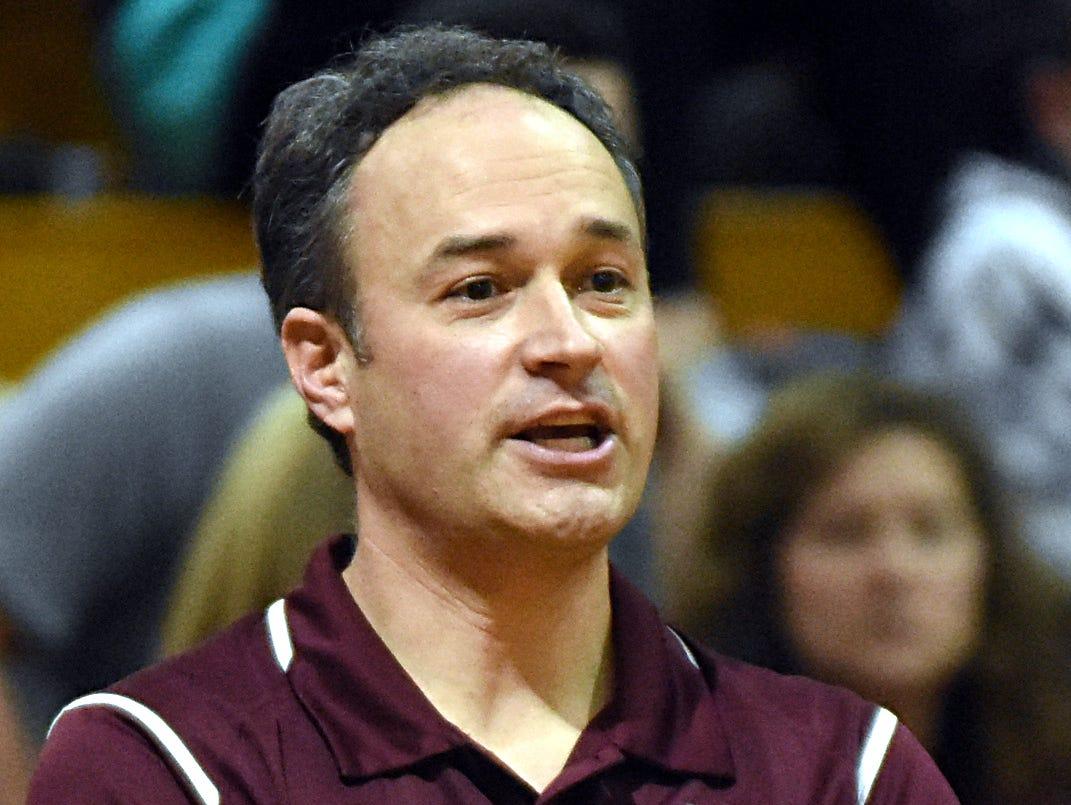 Station Camp coach Seth Massey