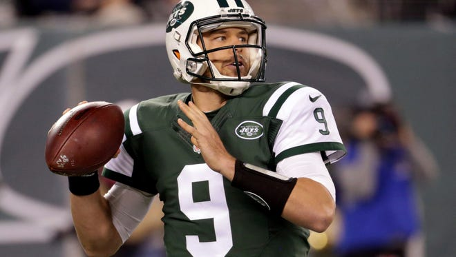 Jets quarterback Bryce Petty during Monday's loss to the Colts. (AP Photo/Seth Wenig)