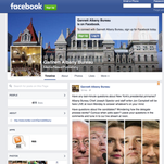 The Facebook page for Gannett's Albany Bureau