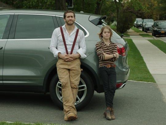 Jake Gyllenhaal, left, and Judah Lewis in 'Demolition,'