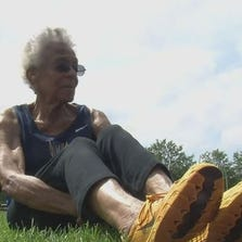 Ida Keeling, 99, set a world record in a 100-meter race in Ohio over the weekend.