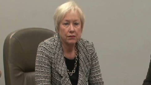 State University of New York Chancellor Nancy Zimpher speaks with the Journal editorial board led by Engagement Editor John Penney.