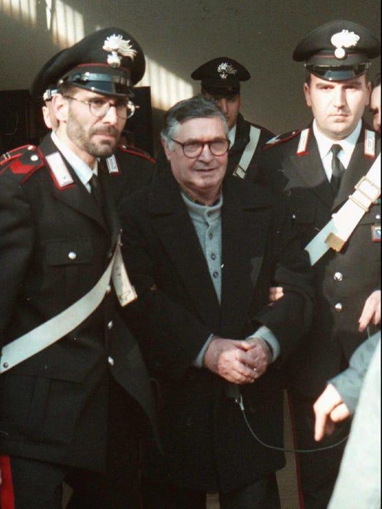 Italy Ailing Mafia Boss