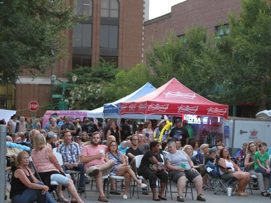 Jammin' in the Alley returns on Friday.