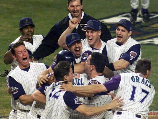 Dbacks World Series win