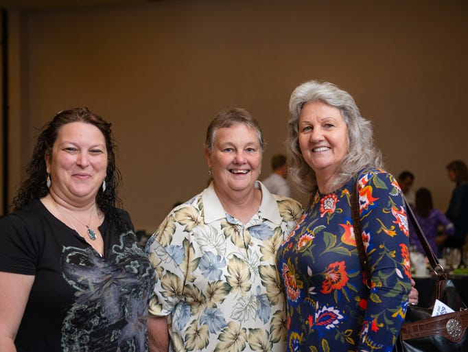 Tracy Logiovane, Kathy Cornelius and Mabelene Kugel