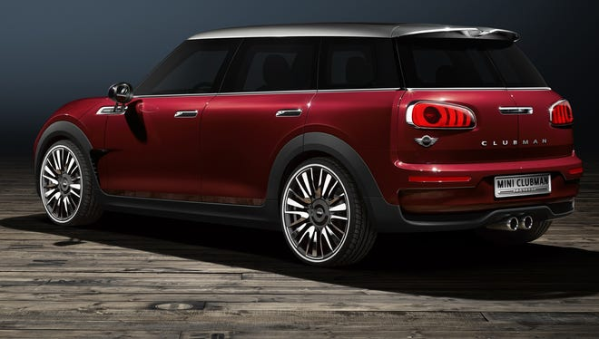 Mini has redone the Clubman, with new rear lights and other touches
