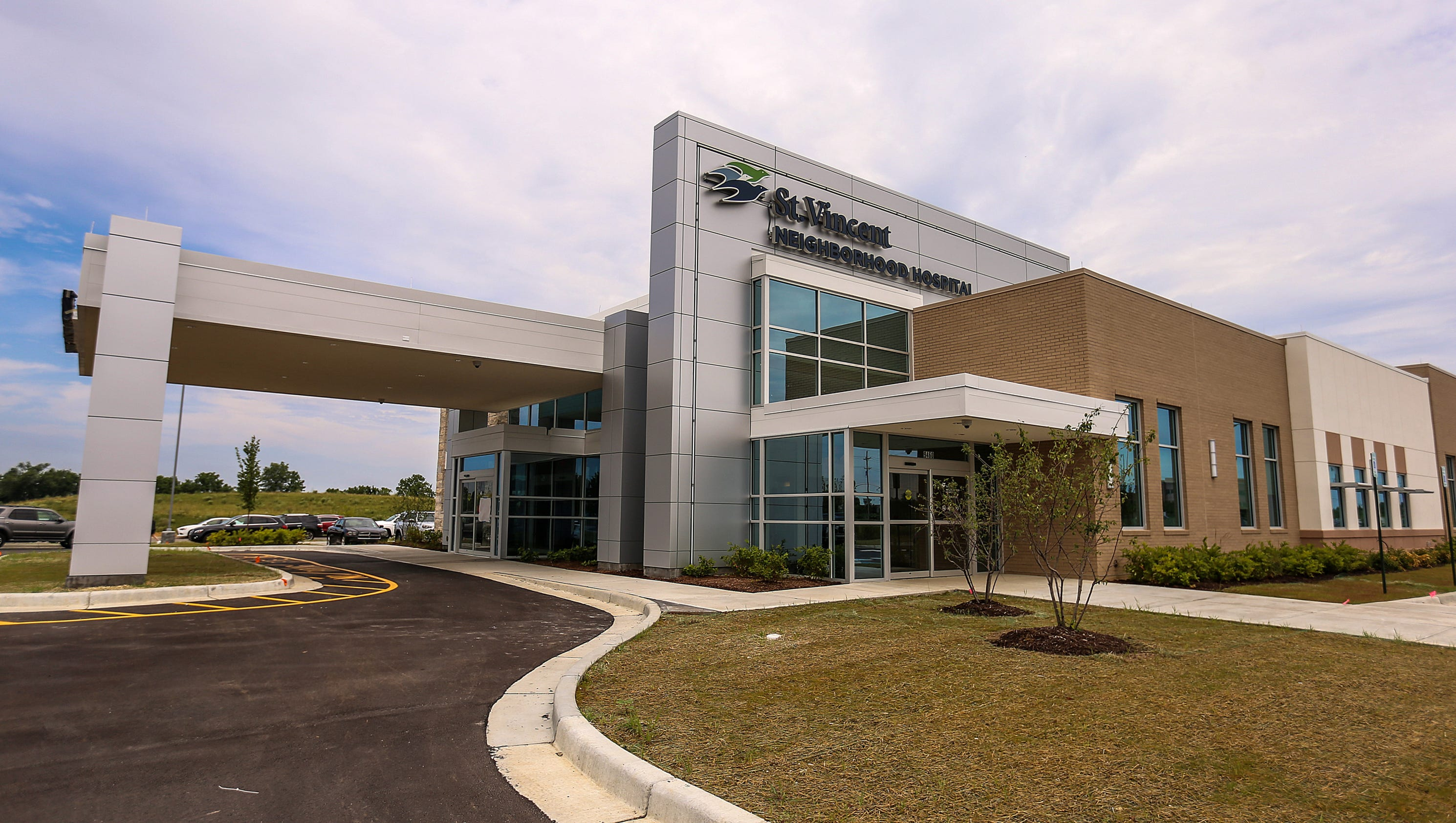 look inside new st vincent neighborhood hospital in noblesville. Black Bedroom Furniture Sets. Home Design Ideas