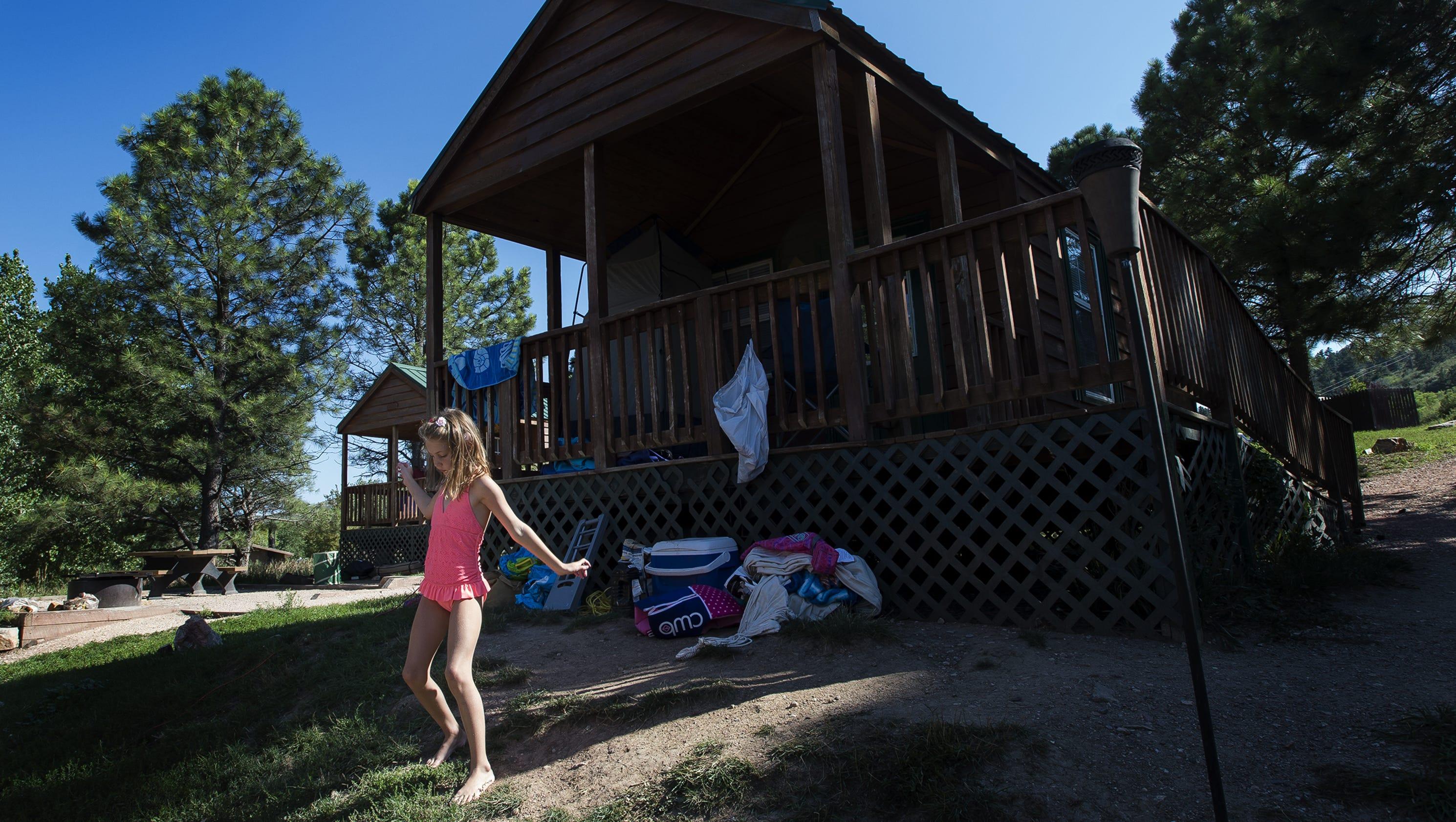 Northern colorado 39 s guide to glamping in northern colorado for Cabin rentals near fort collins colorado