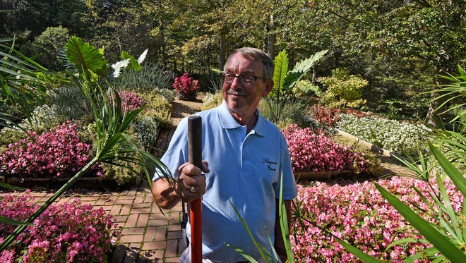Head Gardener Bill Collins is retiring from Kingwood in December after two stints and more than 30 years.