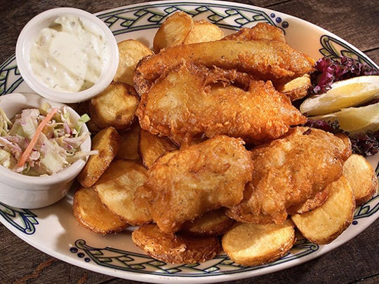 Fish and Chips at the Rula Bula Restaurant in Tempe.