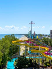 Cedar Point Shores Waterpark in Sandusky, Ohio
