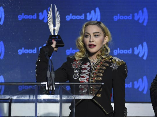 Despite winning seven Grammys, two Golden Globes and countless other honors, Madonna said getting GLAAD's Advocate for Change Award has a special place in her heart.