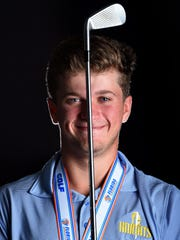 Pine School's Garrett Barber was a two-time TCPalm All-Area Boys Golfer of the Year.
