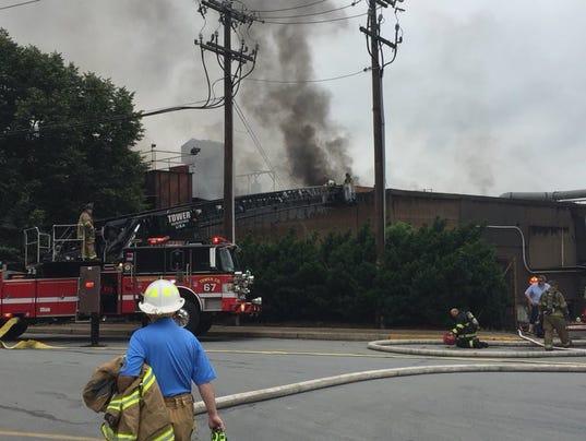 Wrightsville fire