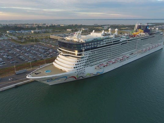 Another Giant Cruise Ship Begins Sailing From Port Canaveral - Cruise ships port canaveral