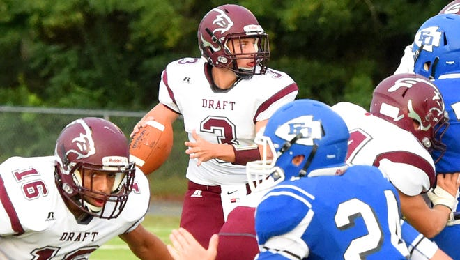 Quarterback Garrett Campbell and Stuarts Draft are tied with county-rival Buffalo Gap for the top spot in 2A East in the first set of VHSL power points, which were released Tuesday.