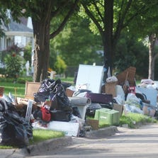 Rizzo picked up a week's supply of trash every day for 12 days, accounting for 12.89 million pounds of extra rubbish between Aug. 12 and Aug. 31. The total cost for that pickup and disposal amounts to $649,288.