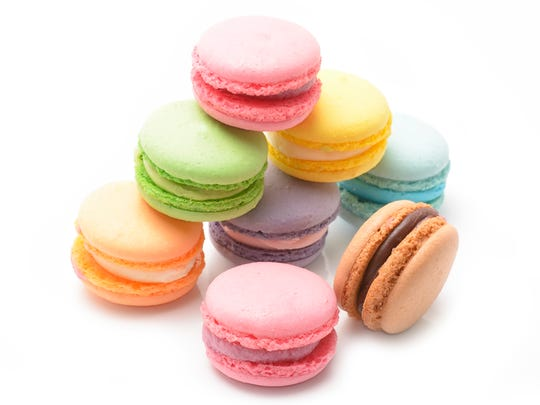 French macarons rank among the most elegant cookies -- on National Cookie Day or any day.