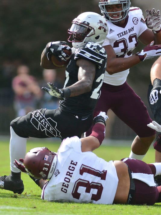 USP NCAA FOOTBALL: TEXAS A&M AT MISSISSIPPI STATE S FBC USA MS