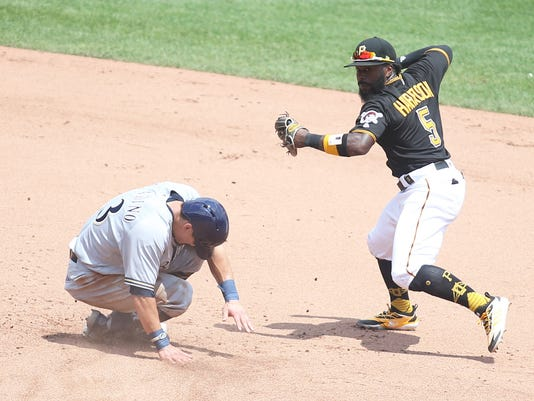 MLB: Game One-Milwaukee Brewers at Pittsburgh Pirates