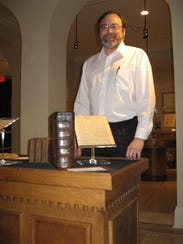 Ralph Calhoun, director of Biedenharn Museum and Gardens,