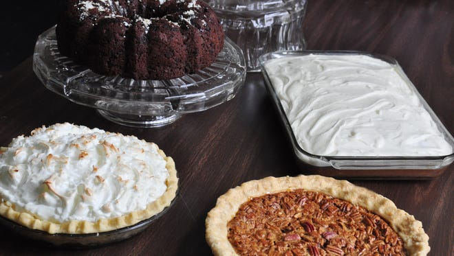 An assortment of home-baked desserts will be available at the Browns Church Ruritan Labor Day sale.