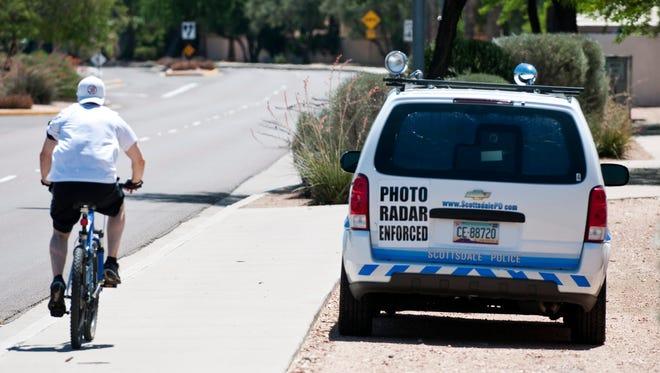 Scottsdale photo-enforcement van.