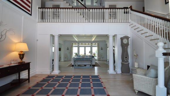 Foyer of Katharine Hepburn's house