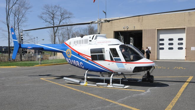 The Rockland County Helicopter Emergency Lift Program has returned Chopper One to service after an engine overhaul and the addition of a new tail boom, landing gear and floats used for water landings.
