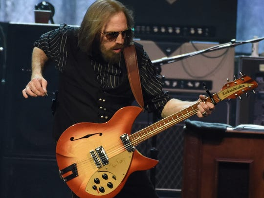 Tom Petty of Tom Petty and the Heartbreakers performs during their 40th Anniversary Tour at Bridgestone Arena on April 25, 2017 in Nashville, Tennessee.