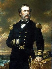 U.S. Navy Rear Admiral Samuel Francis du Pont was an architect of the Union's naval blockade of southern states