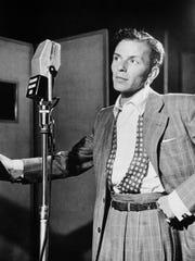 The William Gottlieb photo of Frank Sinatra that inspires Jon Bon Jovi.