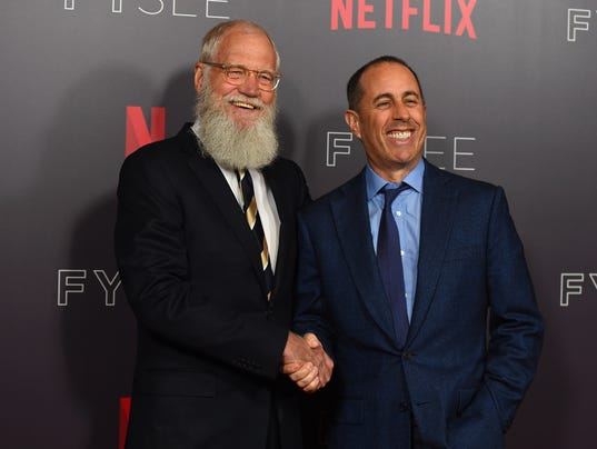 """AP """"MY NEXT GUEST NEEDS NO INTRODUCTION WITH DAVID LETTERMAN"""" FYC EVENT A ENT USA CA"""