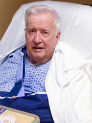 Bob Howard, one day after undergoing TAVR procedures